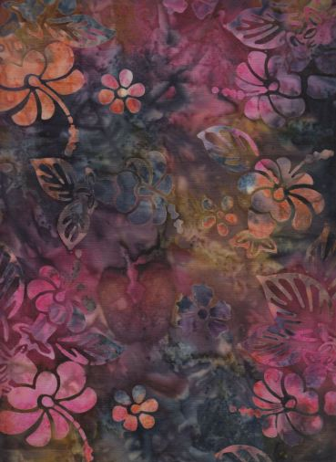 kain batik hibiscus-c1